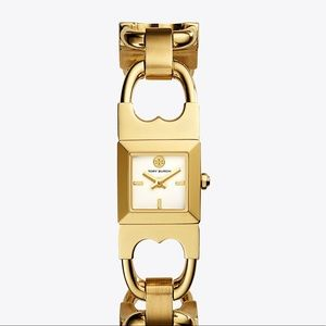 Gorgeous stainless steel Tory Burch bangle watch